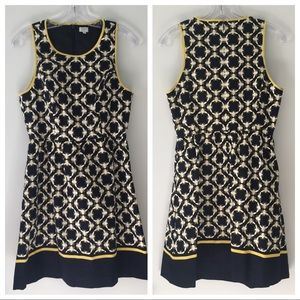 🐝 Crown & Ivy Sunshiny Day Bumble Bee Print Dress